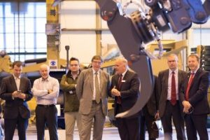 Reece Group, visit by Phillip Dunne MP and Guy Opperman MP